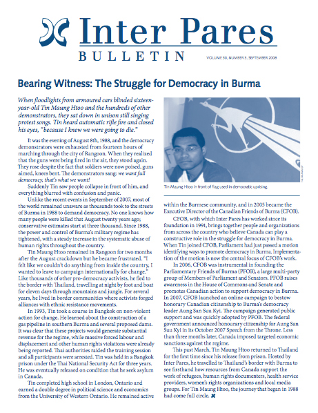 prospect of democracy in burma essay From dictatorship to democracy, a conceptual framework for liberation is a book-length essay on the generic problem of how to destroy a dictatorship and to prevent the rise of a new one the book was written in 1993 by gene sharp (b 1928), a professor of political science at the university of massachusetts.