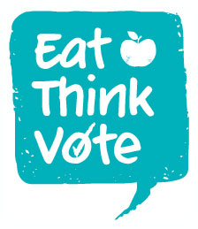 Eat think vote logo