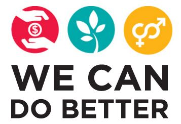 logo for We Can Do Better 2015 campaign