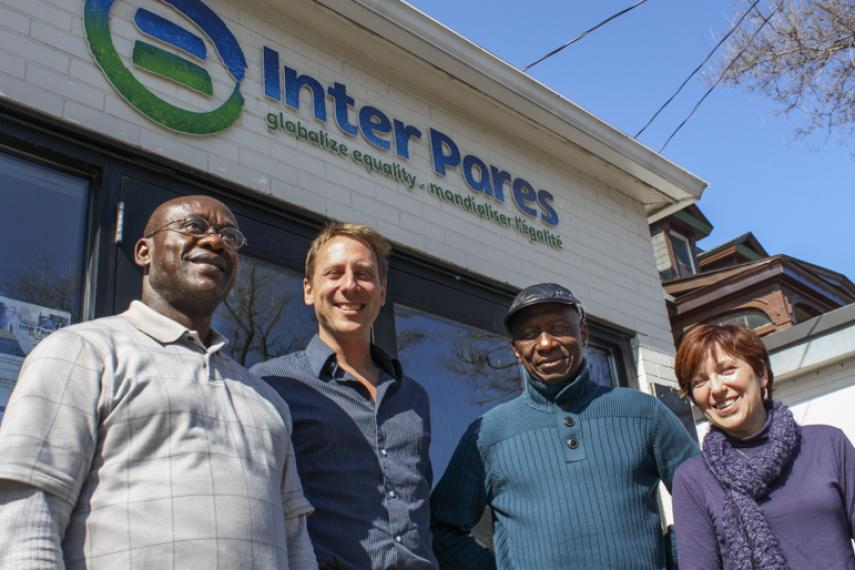 COPAGEN members at Inter Pares office