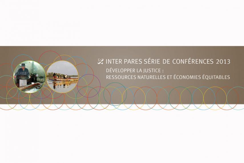 Visuel des conférences annuelles 2013