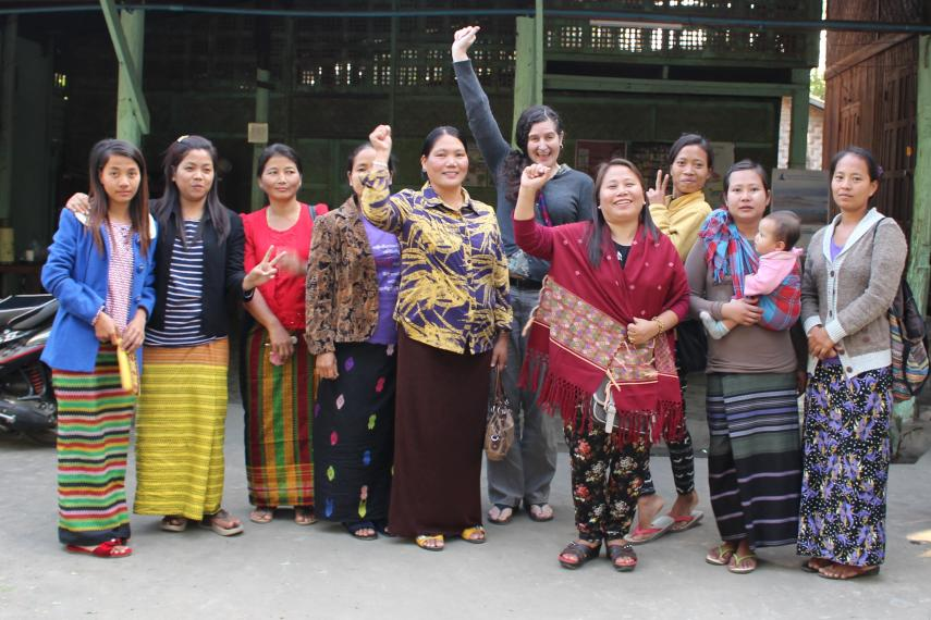 The Kuki Women's Centre uses ground-breaking restorative justice techniques to address gender-based violence in their communities in Burma's north west.
