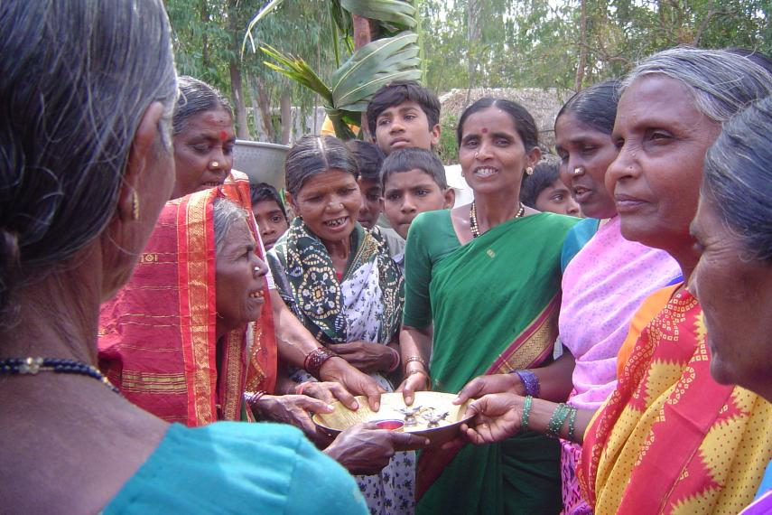 Women group in India