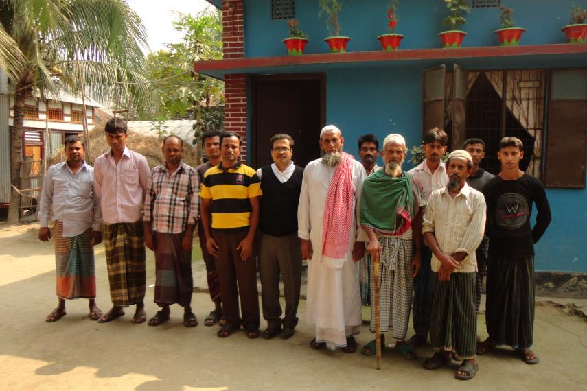 Le comité de la communauté de Kandergaon