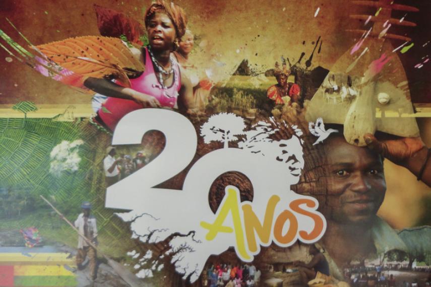 Tiniguena 20 years poster