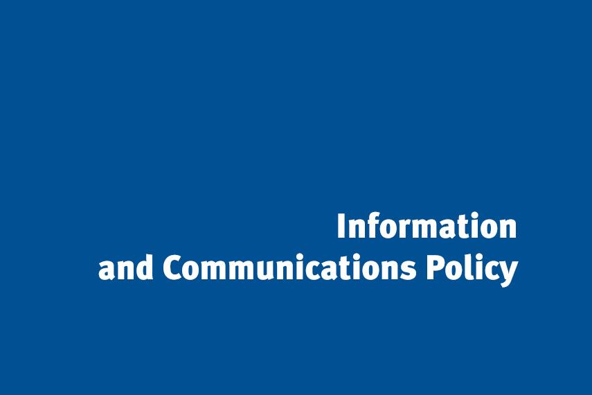 Information and communications Policy