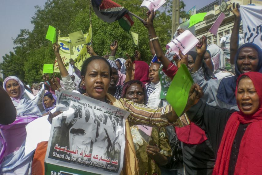 Protest in Khartoum