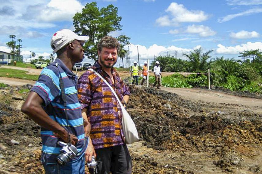 Kwesi Obeng and Jamie Kneen
