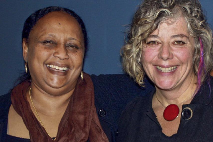 Asha and Amanda