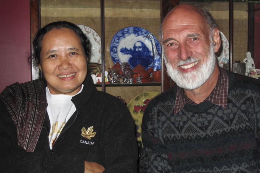 Dr. Cynthia and Bill Van Iterson