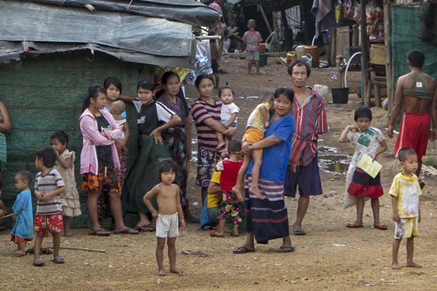 Le camp Tham Hin : géré par les réfugiés, pour les réfugiés avec la collaboration de TBC.