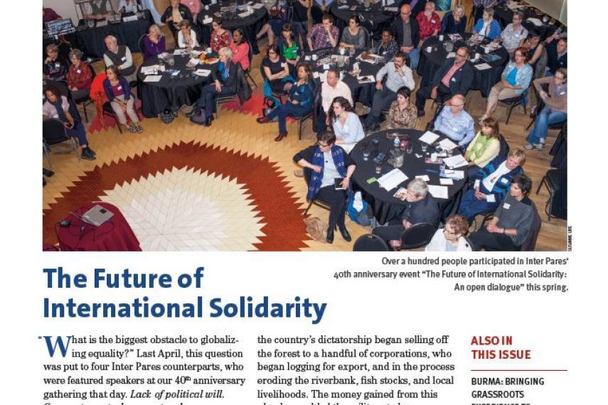 Cover of the 2015 November Bulletin