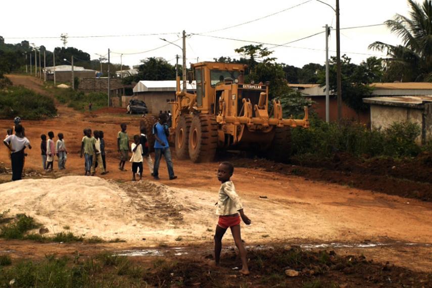 Communauté affectée par l'accaparement des terres en Afrique de l'Ouest