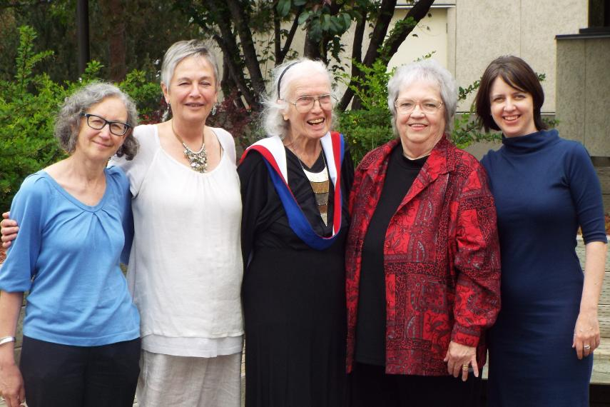 Dr. Margaret Phillips with friends