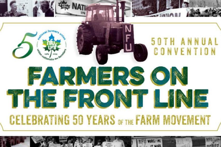 National Farmers Union 50th anniversary
