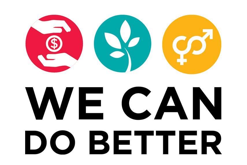 We can do better logo