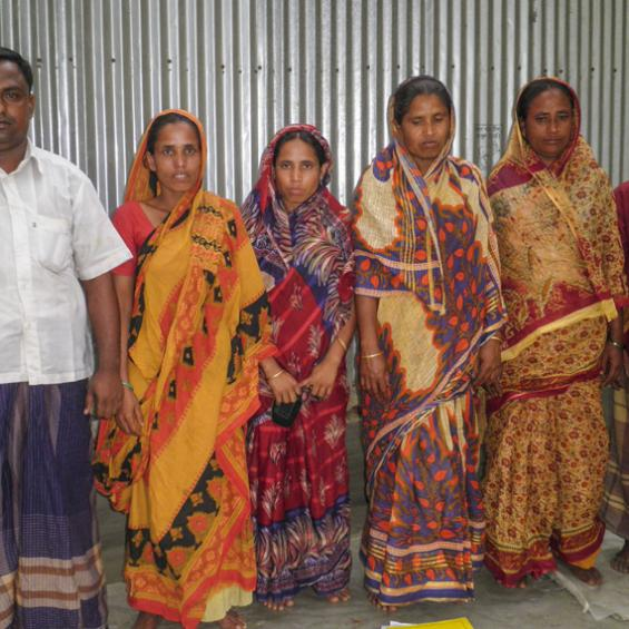 Femmes du Bangladesh