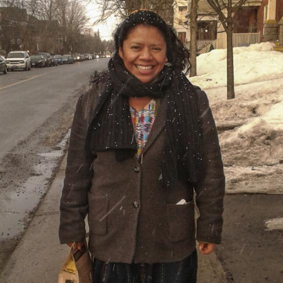 Lolita Chávez: Human rights' activist taking part of the Defend Dissent Tour in Canada