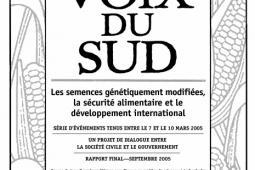 Page couverture du rapport 2005