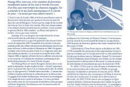 Page couverture du bulletin de Septembre 2008
