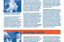 Page couverture des faits salliants 2008