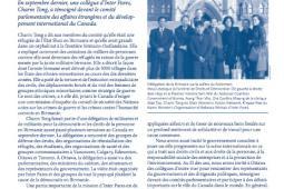 Page couverture du bulletin de Fevrier 2010