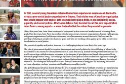 Page couverture du rapport annuel 2010
