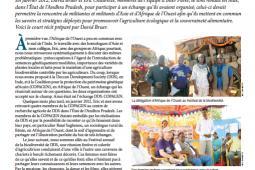 Page couverture du bulletin de Novembre 2012