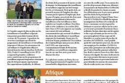 Page couverture des faits salliants 2012
