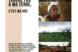 """Page couverture de """"Touche pas à ma terre, c'est ma vie"""""""