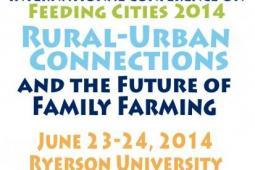 Feeding cities - Conference