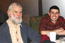 Jack Hui Litster en compagnie de Geoff Evans