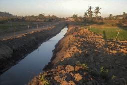 Une canalisation du projet Shwe