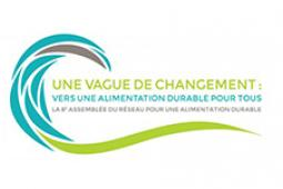 Une vague de changements - logo en français