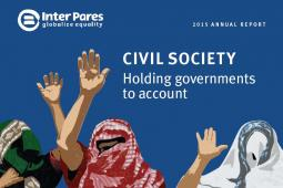 Cover image of Inter Pares' 2015 Annual Report