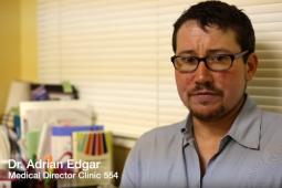 Dr. Adrian Edgar, Medical Director of Clinic 554