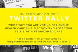 Twitter Rally poster