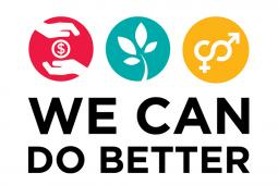 We can do better logo