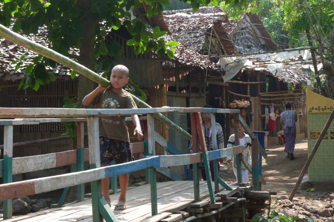 Karen refugees from Burma play an active role in managing their own camps.