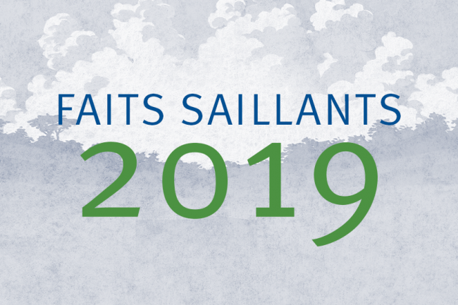 Faits saillants 2019