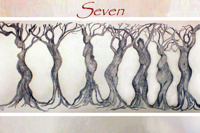 promotional image for Seven: A documentary play