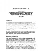 2003 Report cover