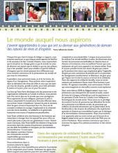 Page couverture du rapport annuel 2008