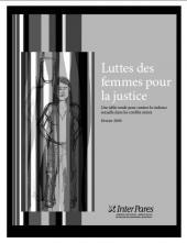 Page couverture de la publication occasionalle Février 2009