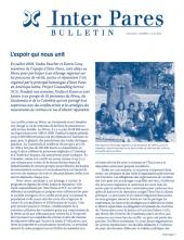 Page couverture du bulletin de Juin 2009