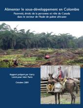 Page couverture du rapport 2009