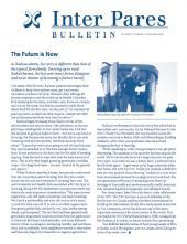 November 2009 Bulletin Cover