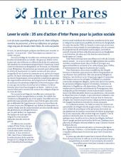 Page couverture du bulletin de Novembre 2010