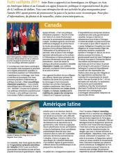 Page couverture des faits salliants 2011