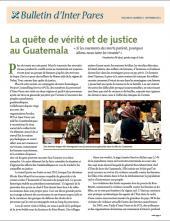 Page couverture du bulletin de Septembre 2013
